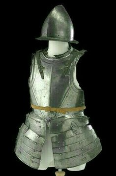 Late 16th, early 17th century pikeman corselet with tassets