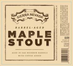 Sierra Nevada Barrel Aged Maple Stout Released