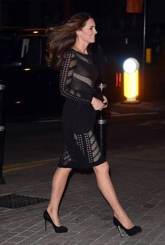 Duchess of Cambridge attends L'Anima Restaurant
