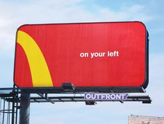 "Mc Donald's ""on your left"" – 2018 Source : Coloribus Agency : Cossette Toronto (Canada)"