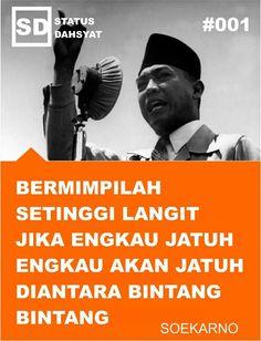 Soekarno 1'st president of Republik INDONESIA