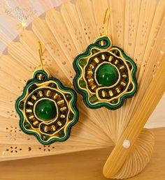 Soutache Jewelry Tutorial | Soutache earrings by ~fiamen on deviantART
