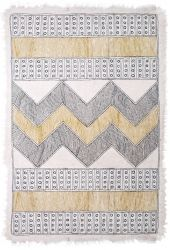 Namuda Embroidered Felt Rug Wool/Cotton Rug Dimensions: x Wool Rug, Felt, Quilts, Blanket, Rugs, Cotton, Farmhouse Rugs, Feltro, Comforters