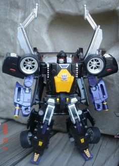 Custom Transformers Alternators Insecticons: Shrapnel