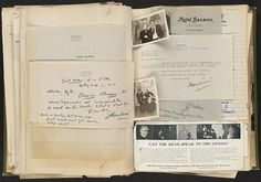Harry Houdini Scrapbook [Photographs with Jack London] by Boston Public Library, via Flickr