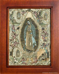 Virgen de Guadalupe. Siglo XVIII. Museo Nacional del Virreinato, Tepotzotlán, México.