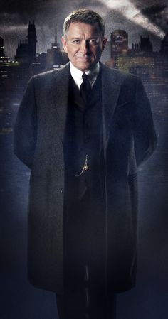 GOTHAM - First Photo of Sean Pertwee as Alfred Pennyworth