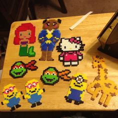 Perler fuse beads crafts by nataliee8528