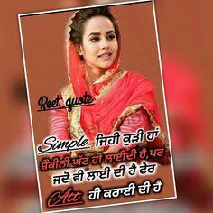 61 Best ghaint quotes images in 2018 | Punjabi quotes, Hindi