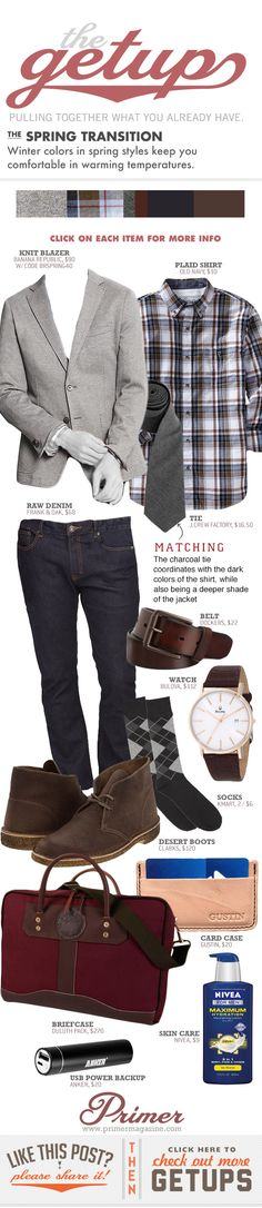 The Getup: The Spring Transition - Primer