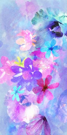 lovely water colors to dream by....