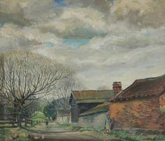 March in Herefordshire by Trevor Makinson   Hereford Museum and Art Gallery Date painted: 1944 Oil on board, 35.5 x 40.5 cm Collection: Hereford Museum and Art Gallery Where to see this pain