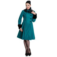 Hell Bunny Angeline Coat | Hell Bunny | Starlet Vintage