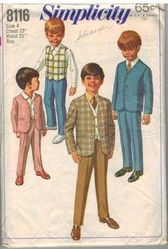 8116-Vintage-Simplicity-Sewing-Pattern-Boys-Jacket-Pants-Reversible-Vest-4-OOP
