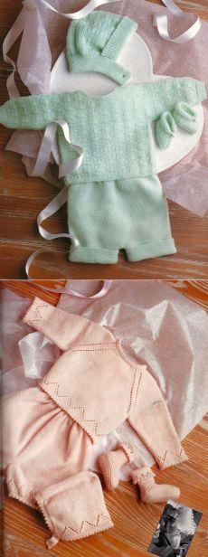 VERDE E- ROSA berretto, coprifasce, culotte e scarpine misure Naștere Fino o 9 Mesi |  La Maglia di Marica