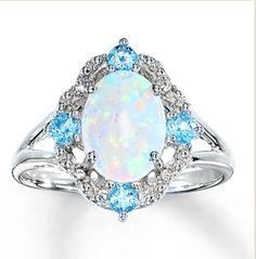 Opal ring  Kay jewelers