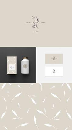 logo design, graphic design, branding inspiration, brand identity, premade logo design for floral, organic, natural feminine brands