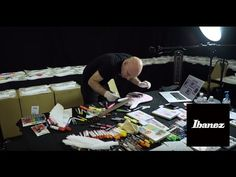 Joe Satriani & Ibanez Guitars: The JS ART Project 2016