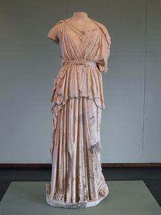Statue de Minerve, IIe siècle?, MSR, Musée Saint-Raymond, Villa romaine de Chiragan, Musée des Antiques de Toulouse | da Following Hadrian