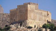 Castillo de Petrer .Alicante Spain .