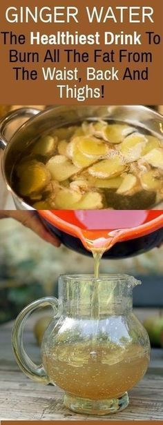 Ginger Water: The Healthiest Drink To Burn All The Fat From The Waist, Back And Thighs! – Skin nd Beauty Ginger Water: The Healthiest Drink To Burn All The Fat From The Waist, Back And Thighs! – Skin nd Beauty Bebidas Detox, Herbal Remedies, Health Remedies, Natural Remedies, Do It Yourself Food, Weight Loss Drinks, Drinks To Lose Weight, Detox Water To Lose Weight, Weight Loss Diets