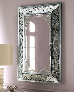 Etched Venetian-Style Mirror at Horchow.