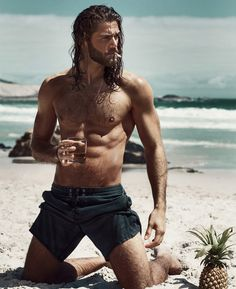 Oh my goodness...another inspiration for Samsyn Cimarron. Ben Dahlhaus by Esra Sam for Vorn Magazine
