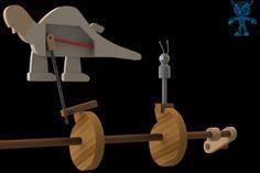 Aardvark vs Ant Wooden Toy - SketchUp,Parasolid,SOLIDWORKS,Autodesk 3ds Max,OBJ,STEP / IGES,STL - 3D CAD model - GrabCAD