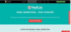 MailGet is great for email marketing. It allows you to gain an edge over your competitors by sending managing and monitoring your email marketing campaigns. Online Marketing Tools, Email Marketing Campaign, Email Marketing Services, Marketing Software, Responsive Email, Email Templates, Premium Wordpress Themes, Things That Bounce, Amazon