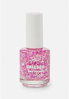 Shop Justice for pretty girls' nail polish, fun nail art & cute press on nails. Our nail polish sets are just one of the ways she can show off her personal style! Best Nail Art Designs, Nail Polish Designs, Justice Makeup, Unicorn Nails Designs, Justice Accessories, Unicorn Fashion, Pink Polish, Unicorn Makeup, Super Nails