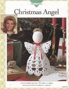 Christmas Angel Crochet Pattern