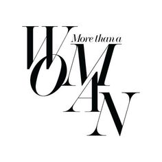 more than a women via net-a-porter Fashion Typography, Typography Design, Lettering, City Magazine, Magazine Design, Web Design, Layout Design, Type Design, Editorial Layout