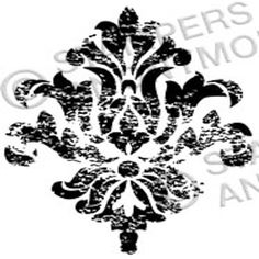 Tim Holtz Rubber Stamp DAMASK 5 Stampers Anonymous H1-2326