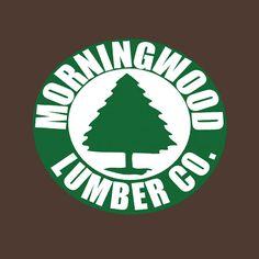 Funny T-Shirt Morningwood Lumber Co. $19.00