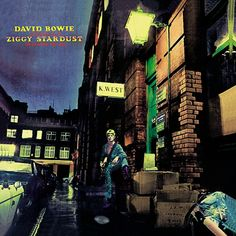 """Happy Birthday to David Bowie's 'The Rise and Fall of Ziggy Stardust and The Spiders from Mars' album, which was released on this day in Famous Album Covers, Greatest Album Covers, Rock Album Covers, Classic Album Covers, Music Album Covers, Ziggy Stardust Album Cover, Bowie Ziggy Stardust, David Bowie Ziggy, David Bowie Poster"