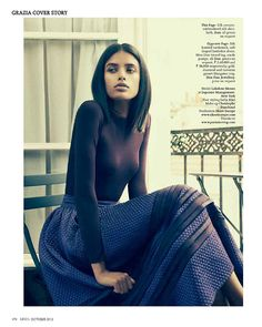 Lakshmi Menon Takes on Paris in Dior for Grazia Indias October 2012 Cover Shoot