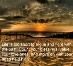 So true life is beautiful i thank god everyday... Life is'nt perfect but its ours.