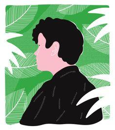 osmaharvilahti:  portrait of me by Toni Halonen tonihalonen:  Portrait of Osma Harvilahti