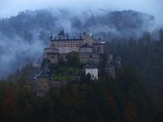 Hohenwerfen Castle - undoubtedly the most dramatic of all Austrian Castles.