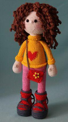 Marina Tsydenova | VK Amigurumi Patterns, Amigurumi Doll, Doll Patterns, Crochet Patterns, Crochet Dollies, Crochet Toys, Crochet Baby, Puppet Toys, Doll Toys