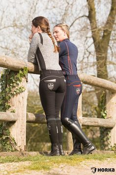 Girls in riding boots and breeches Equestrian Girls, Equestrian Boots, Equestrian Outfits, Equestrian Style, Horse Riding Clothes, Riding Pants, Horse Girl Photography, Riding Breeches, Sport Outfit