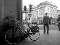 #bicycle at the Buckingham Palace