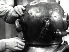 """more at http://quickfound.net/links/military_news_and_links.html    """"Assembling and testing the standard deep sea diving outfit.""""    Public domain film from the National Archives with the aspect ratio corrected and mild noise reduction applied.    US Navy training film KN-9915-B    part 2: http://www.youtube.com/watch?v=5s0CeqeT60I    also see: The Diving..."""