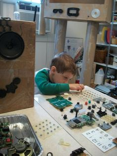 the benefits of tinkering school for a childs development Young children, of nursery school and kindergarten age, also practice emotional  regulation in  in j h goldstein (ed), toys, play, and child development (pp.