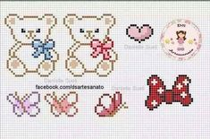Thrilling Designing Your Own Cross Stitch Embroidery Patterns Ideas. Exhilarating Designing Your Own Cross Stitch Embroidery Patterns Ideas. Small Cross Stitch, Cross Stitch Heart, Cross Stitch Cards, Beaded Cross Stitch, Cross Stitching, Cross Stitch Embroidery, Baby Cross Stitch Patterns, Hand Embroidery Patterns, Plastic Canvas Patterns