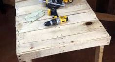 Make a Pallet Workbench in Under 2 hours