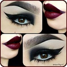 love  | Want more makeup ideas? Follow http://www.pinterest.com/thevioletvixen/face-paint/