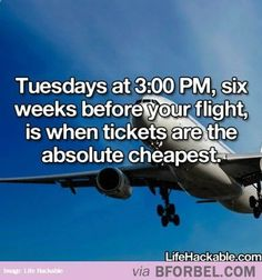 Book Your Flights, People!