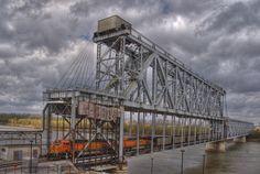 The Armour-Swift-Burlington (ASB) Bridge, also known as the North Kansas City Bridge and the LRC Bridge, is a rail crossing over the Missouri River in Kansas City, Missouri that formerly also handled car traffic.