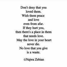 Past loves Najwa Zebian